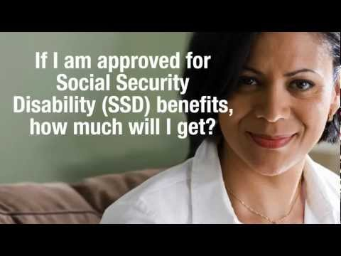 If I am approved for disability, how much will my Social Security Disability benefit be?