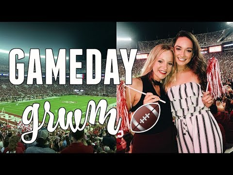 GAMEDAY GET READY WITH ME! UNIVERSITY OF ALABAMA