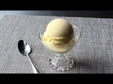 Frozen Vanilla Custard - French Vanilla Ice Cream Recipe - How to Make Custard Style Ice Cream