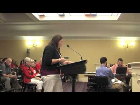 Ann Becker on Common Core Repeal