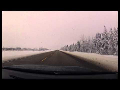 4K Fort McMurray to Edmonton GoPro Timelapse