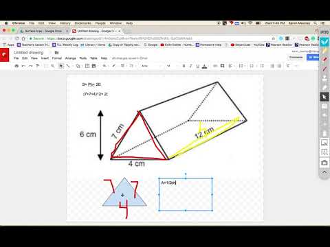 Surface Area of Triangular Prism