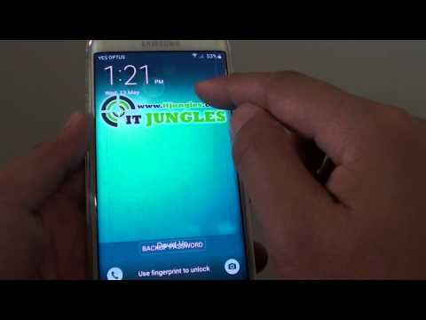 Samsung Galaxy S6 Edge: How to Enable / Disable Weather Widget Display on Lock Screen