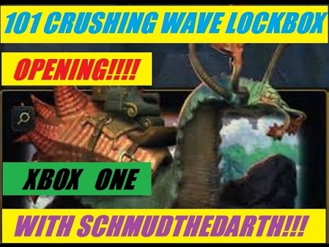 Xbox One 101 Crushing Wave Lock Box Open On Neverwinter
