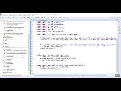 Test Base For Keyword Driver Framework Video-7