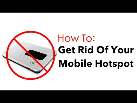 Stop Using Your Mobile Hotspot [HOW TO]