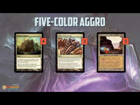 Instant Deck Tech: Five-Color Aggro (Modern)