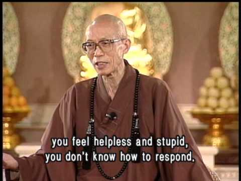How to cultivate patience(GDD-0305, Master Sheng Yen)