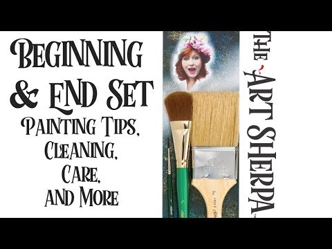 The Beginning and End Set | Blending | Varnish | Signature   Art Sherpa Brushes