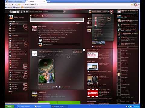 How to Change Facebook Themes with proof in google chrome....