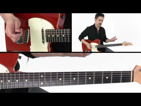 30 Modern Country Licks - #6 Don't Lose Your Shirt - Guitar Lesson - Corey Congilio