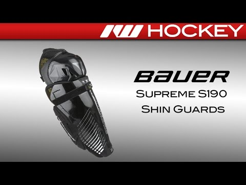 Bauer Supreme S190 Shin Guard Review