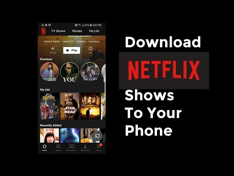 How To Download Netflix Content on iPhone and Watch Offline