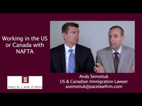 Working In Canada and the USA with NAFTA