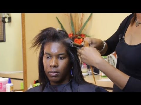 How to Straighten African-American Hair Without Relaxers ... : Style Tips for African-American Hair