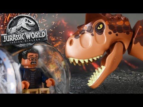 LEGO TOAST!! - Carnotaurs Escape! Jurassic World 2 Lego Set - Review/Build