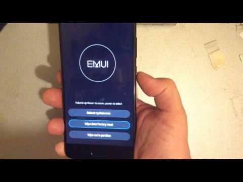 Huawei P10 Plus Hard Reset , password reset , Удаление ГРАФИЧЕСКОГО КЛЮЧА