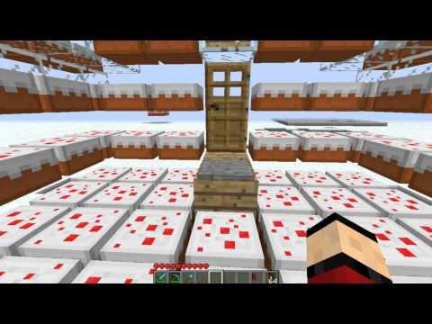 Minecraft - Exploding Cake House