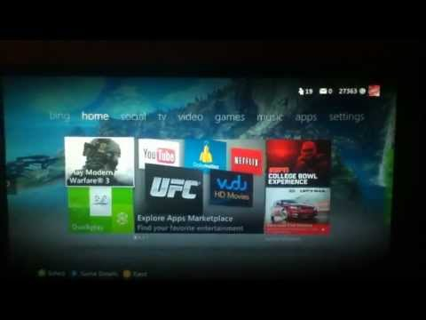 How to Change Xbox 360 Theme. (new update)