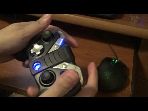 Gamesir G4s Wireless Game Controller for Android OS PC and PS3 unbox and review