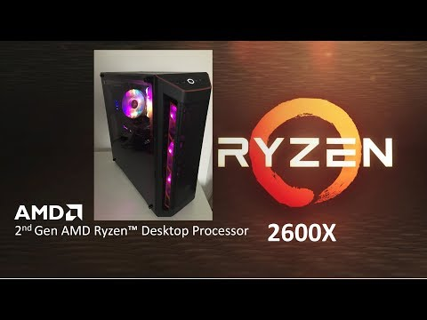 ✅Ryzen 5 2600X 4.2Ghz 16GB DDR4 SSD Gaming PC Build