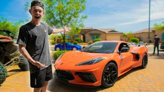 Trading my 1000HP GTR for THIS! (Test Driving C8 Corvette)