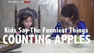 Kids Say the Cutest Things: Counting Apples (Desi Vines Funny Hindi Videos)
