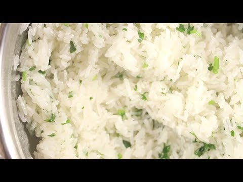 How to make Chipotle Cilantro-Lime Rice (copy cat)