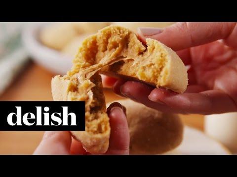 Peanut Butter Stuffed Cookies | Delish