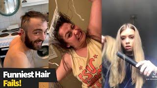 Funniest Hair Fails Caught On Camera | Haircut & Bleaching Gone Wrong