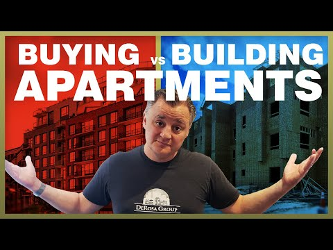 What is Better - Buying an Apartment Complex vs Building One -  MM029