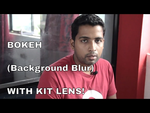 Get Good Bokeh With Kit Lens (background blur with kit lens)