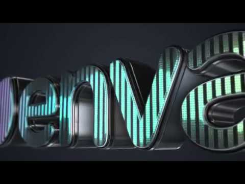 Free After Effects Templates 3D led logo equalizer