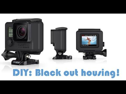 GoPro Blackout Housing DIY!