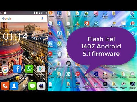 itel 1407 how to flash FIRMWARE ANDROID 5.1 pac flash file