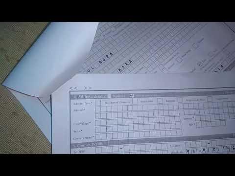 New SBI account Form Fillup : April 2018 || SBI ফৰ্ম কেনেকৈ Fillup কৰিব ।।
