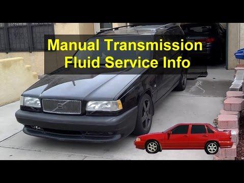 Manual transmission fluid change process, Volvo 850, S70, XC70, C70, etc. - VOTD