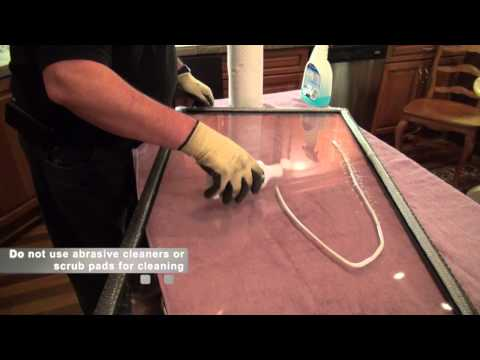 How to Clean the Glass on a Heat & Glo® Gas Fireplace Video