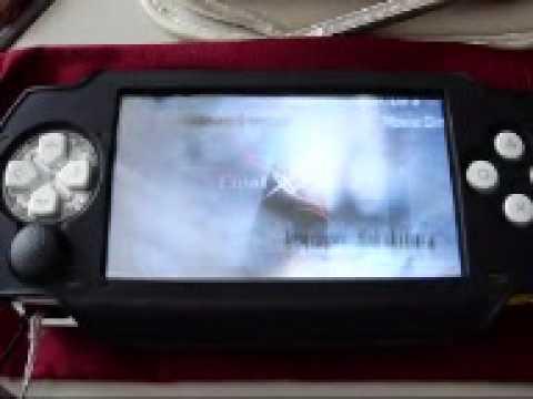 Final Fantasy VII on PSP FULL SPEED & FULL SCREEN