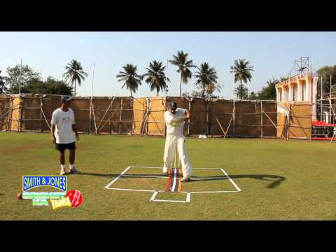 Cricket Practice:The Pull Shot to Fast Bowling