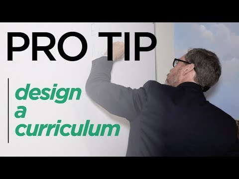 The Best Method for Designing and Developing a Curriculum