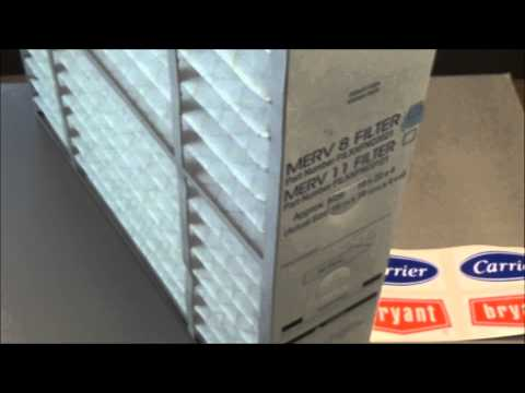 Carrier and Bryant FILXXFNC0021 cartridge style air filters