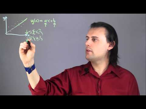 How to Write a Linear Regression Equation Without a Calculator : Physics & Calculus Lessons