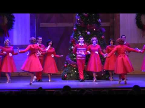 Finale from Irving Berlin's White Christmas at The Noel S.  Ruiz Theatre