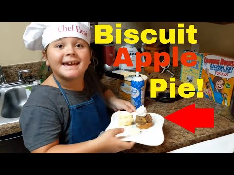 Easy to make Apple Pie: How to make Apple Pie using Biscuits!