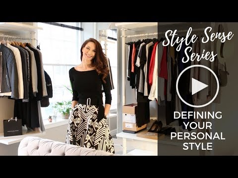 Style Sense Series: Lesson One, Defining your Personal Style