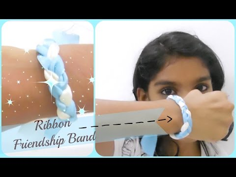 DIY - Satin Ribbon Friendship band - Easy to make for kids