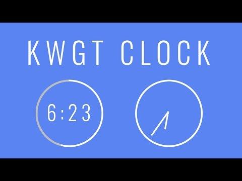 KWGT Tutorial: Digital and Analog Clock
