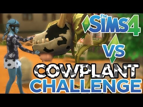 Cowplant Challenge | The Sims 4 | With Aureylian