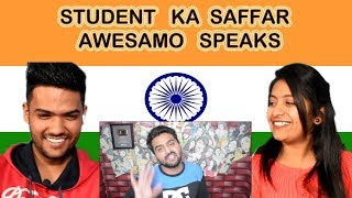 Indian reaction on Khujlee Family   STUDENT KA SAFFAR   AWESAMO SPEAKS   Swaggy d